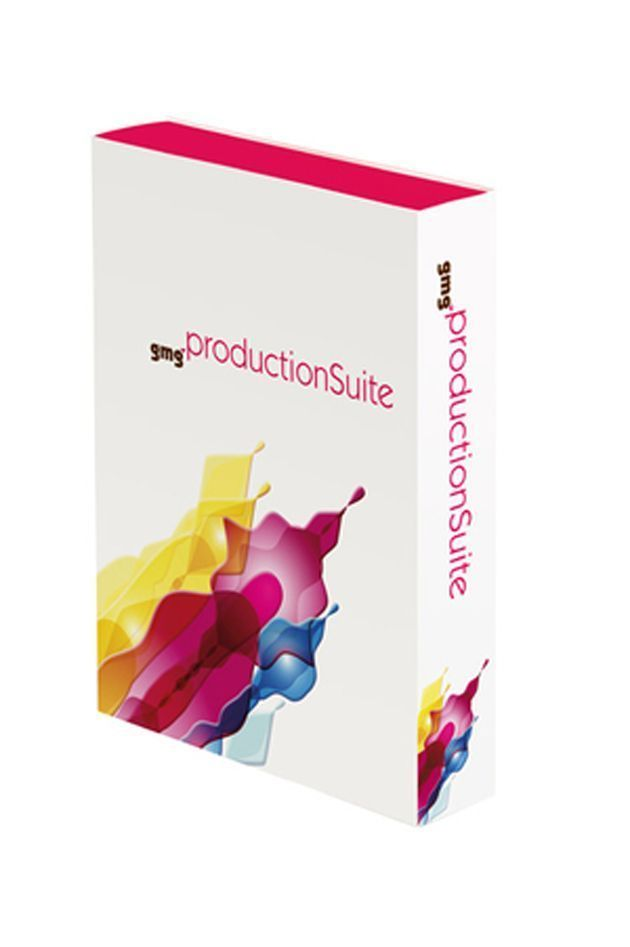 Production Suite: pacote de softwares da GMG