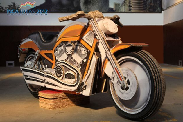 Harley Davidson V-Road da Artwork Digital levou o Inca Ideas