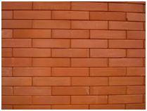 Evite aplicar películas sobre materiais como tijolos
