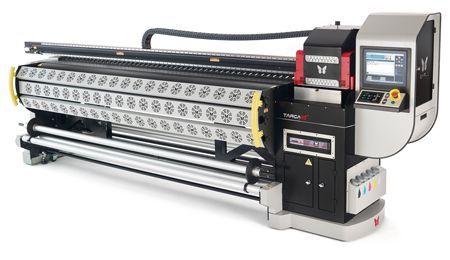 Nova linha de impressoras Ampla New Targa XT é composta por impressoras UV, solvente e sublimática
