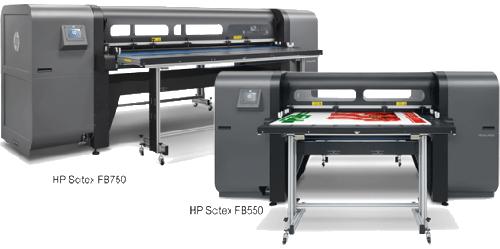 Portfólio da HP ampliado: empresa passou a vender no Brasil as impressoras Scitex FB750 e Scitex FB550
