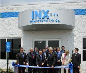 Segundo a Inx International, a nova fábrica poderá ter produção de 37 milhões de libras esterlinas de tinta solvente por ano