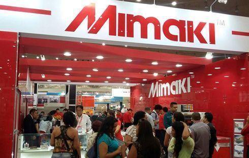 Mimaki apresentou a série CJV150 na feira Maquintex 2015