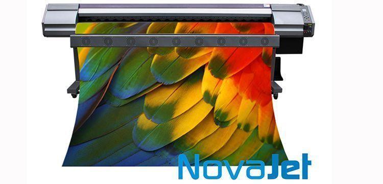 Novajet 1602S pode vir com uma ou duas cabeças de impressão
