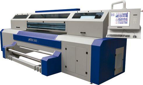 MTEX 5032HS imprime diretamente em tecidos