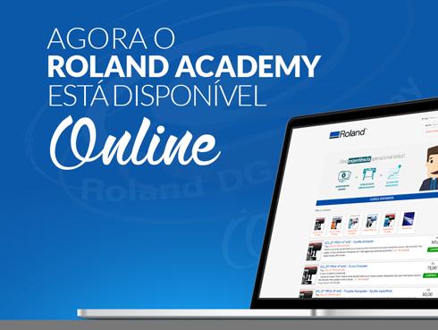Roland Academy Online foi apresentando na feira Serigrafia Sign 2015