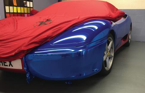 Hexis HX30000 Super Chrome está disponível em sete cores