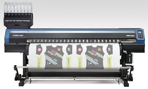 Com 1,8m de largura, a TS300P-1800 é indicada para indústrias têxteis