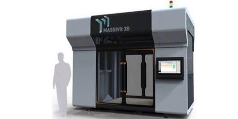 Massivit 1800 pode imprimir objeto com até 1,8m de altura