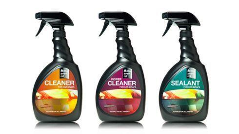 Supreme Wrap Care é composto por limpadores, selantes e crachás