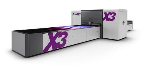 Onset X3 pode trabalhar na velocidade de 900 metros quadrados por hora