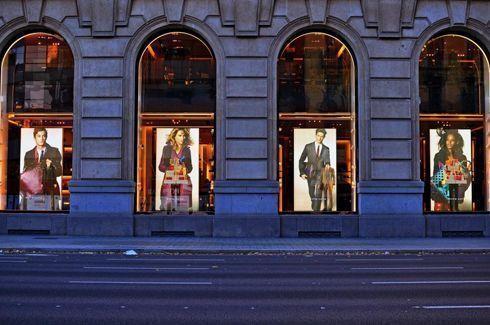ViziPrint Illuminate é indicada para lojas e ambientes decorados