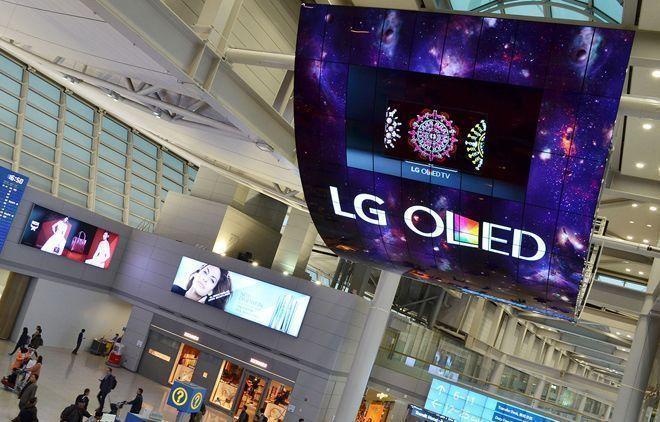 Sinalização digital foi instalada em aeroporto da Coreia do Sul