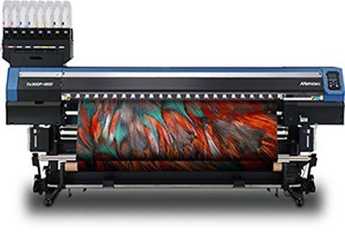 TX300P-1800 pode utilizar tinta sublimática, dispersa, pigmentada, reativa e ácida