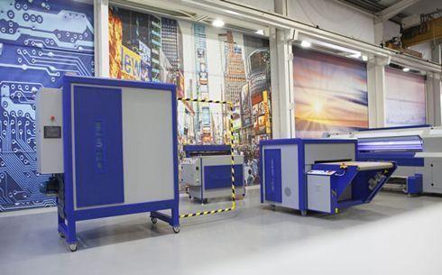 Mini-Lab foi desenvolvido para produzir amostras de tecidos estampados digitalmente
