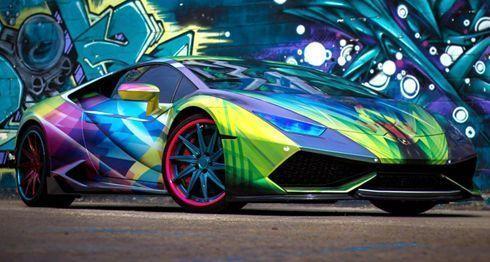 Envelopamento feito em Lamborghini Huracan foi eleito o melhor de 2015 segundo competição internacional promovida pela Avery Dennison