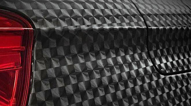 Dimension apresenta acabamento texturizado e efeito tridimensional