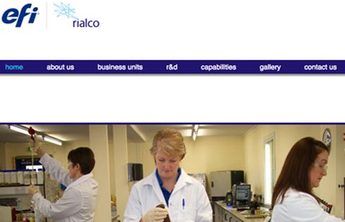 Rialco Limited é a mais nova aquisição da EFI