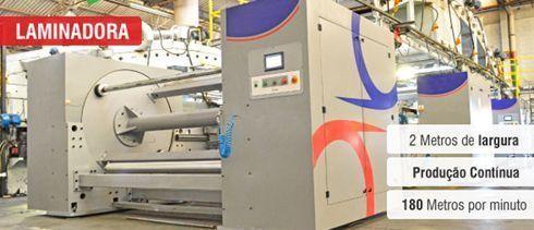 Além da laminadora, fabricante também investiu em outros equipamentos
