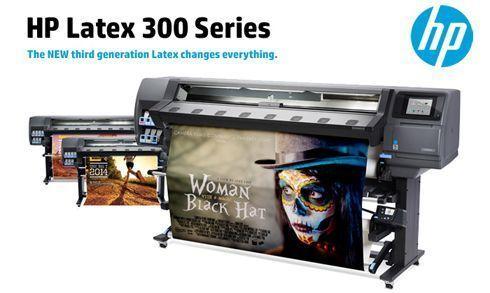 Empresa destaca a linha de impressoras HP Látex Série 300