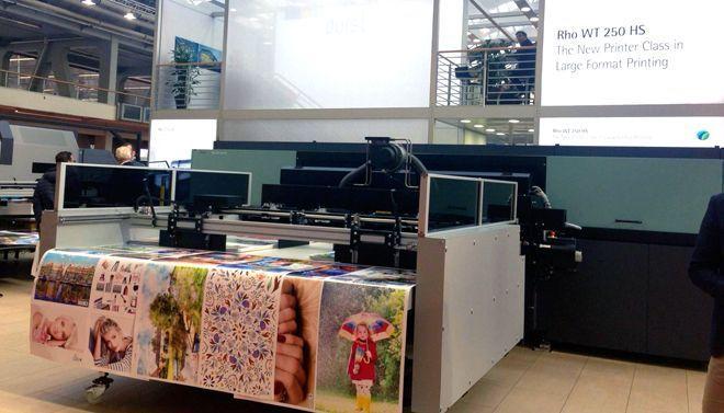 Rhotex 500 emprega sistema de impressão sublimático