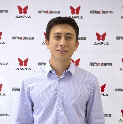 Ricardo Augusto Lie, sócio-diretor da Ampla Digital