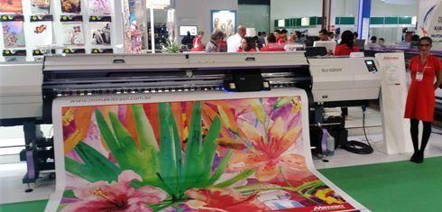 Além de soluções para os segmentos industrial, têxtil e de comunicação visual, fabricante apresentou material não tecido