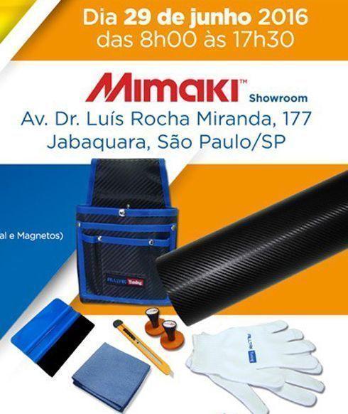 Treinamento será realizado no dia 29 de junho, na sede da Mimaki, em São Paulo