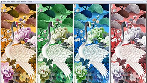 ColorBlend foi criado para atender a indústria de estamparia digital têxtil
