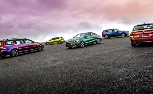 Películas Supreme Wrapping ColorFlow são indicadas para envelopamento de carros