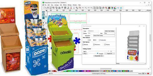 DisplayGenie foi desenvolvido para empresas que produzem displays de comunicação visual