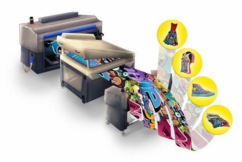 Bordeaux vende solução completa de impressão digital direta em tecidos