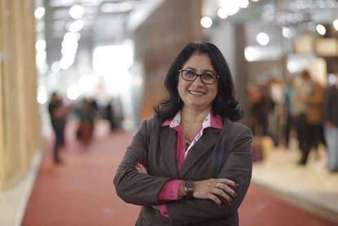 Liliane Bortoluci, diretora da feira Serigrafia Sign FutureTEXTIL