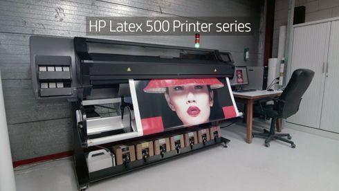 Modelos de impressoras látex têm 1,6m ou 3,2m de largura