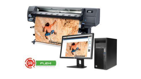 HP passa a recomendar o uso do FlexiPRINT em impressoras da série Latex 300
