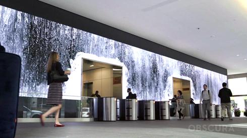 Salesforce e Obscura desenvolveram solução única de sinalização digital decorativa