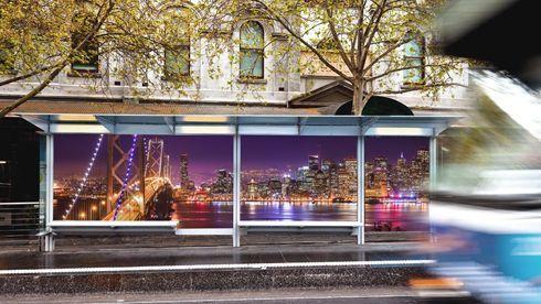 DPF 510 é indicado para instalações de curta duração, como publicidade em ambientes externos