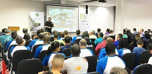 Itinerário do fórum percorreu as cidades de Curitiba, Belo Horizonte e Rio de Janeiro