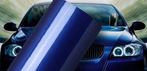 Vinil é indicado para envelopamento automotivo