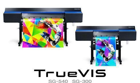 TrueVIS SG 540 e 300 possuem sistema de impressão com recorte integrado