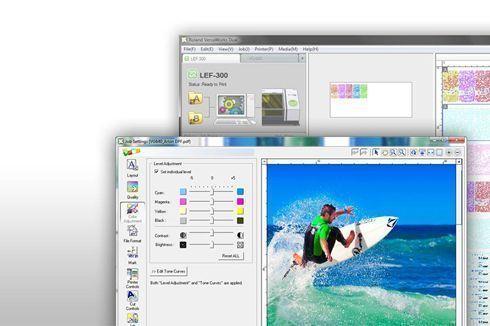 Exclusivo para clientes Roland, software oferece recursos avançados de pré-impressão
