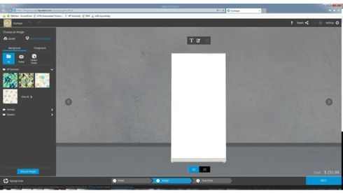 Signage Suite é indicada para quem usa impressoras HP Latex