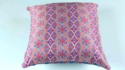 Saiba como sublimar uma almofada para decoração