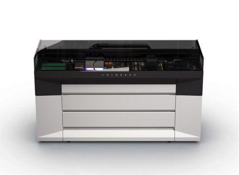 Océ Colorado 1640 é impressora rolo a rolo que emprega tecnologia UVgel