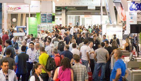 Fespa Brasil 2017 recebeu a visita de15.154 profissionais