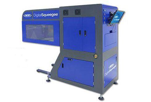 DigitalSqueegee foi desenvolvido para ser integrado a impressoras serigráficas da M&R