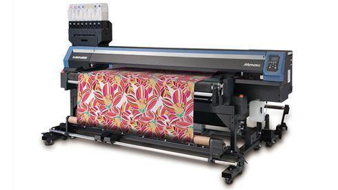 Tx300P-1800 poderá trabalhar com tintas pigmentadas e sublimáticas