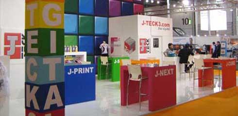 J-Tex é indicada para impressão direta em diversos tecidos
