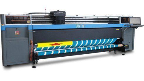 Linha Softjet tem impressoras com larguras de 2,5m e 3,2m