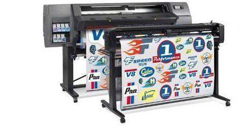 Série HP Latex 300 Print and Cut agiliza o fluxo de produção de peças de sinalização